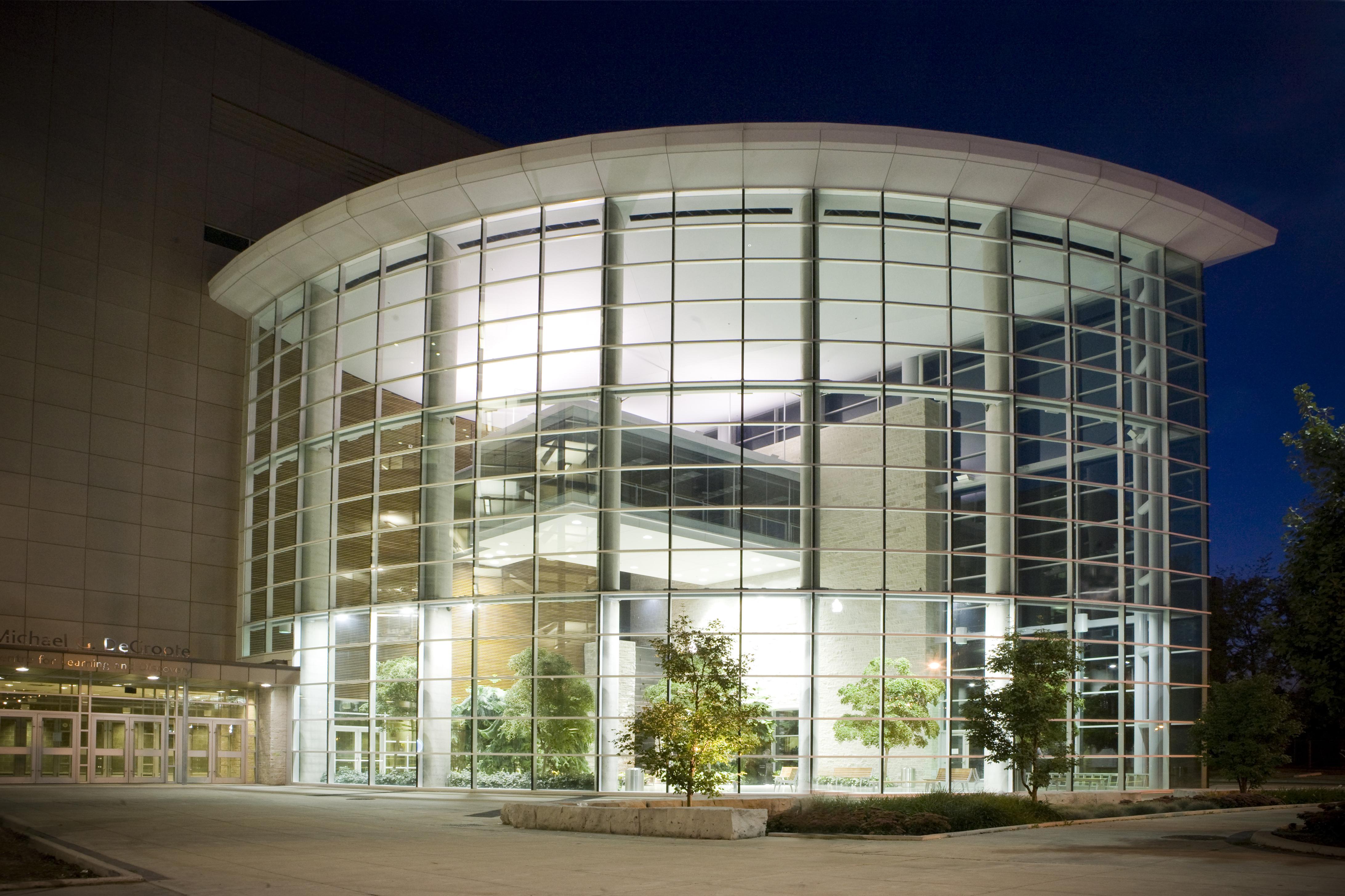 exterior glass building